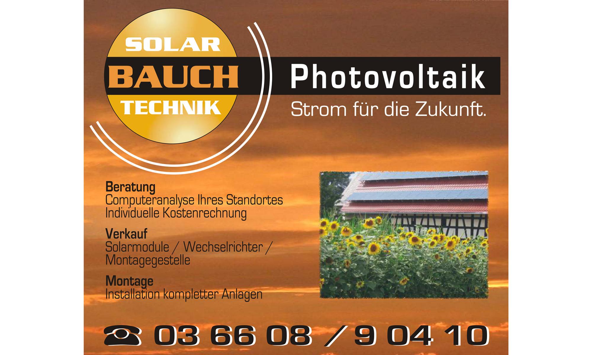 Solartechnik - Thomas Bauch